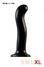 Dildo point P et G taille XL - Strap On Me : Gode 100% silicone hommes et femmes, taille XL, conçu pour stimuler le point G ou le point P, compatible harnais Strap-On-Me.