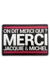 Tapis de souris Jacquie et Michel