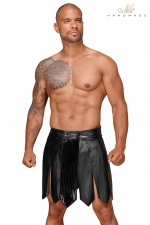 Jupe gladiateur faux cuir H053